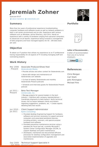 Configuration Manager Resume Summary. resume configuration ...
