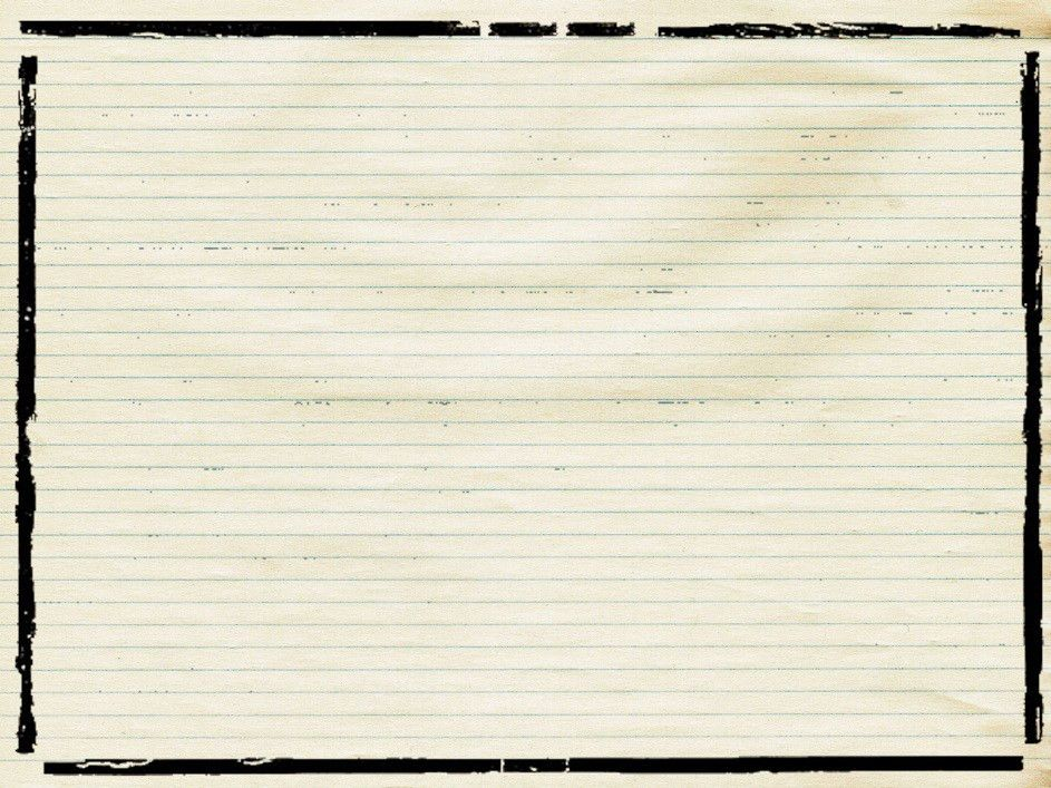 Lined Paper Background For Word