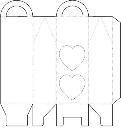 Gift Box Template No.01 | Free Box Templates Store
