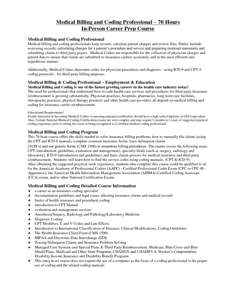 Spectacular Inspiration Medical Coding Resume 13 Sample Resume For ...