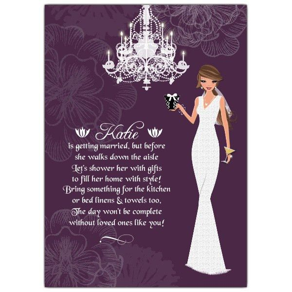 Bridal Shower Invitation wording | PaperStyle