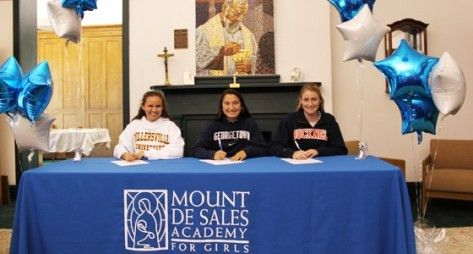 National Letter of Intent Signing Ceremony | News | Mount de Sales ...