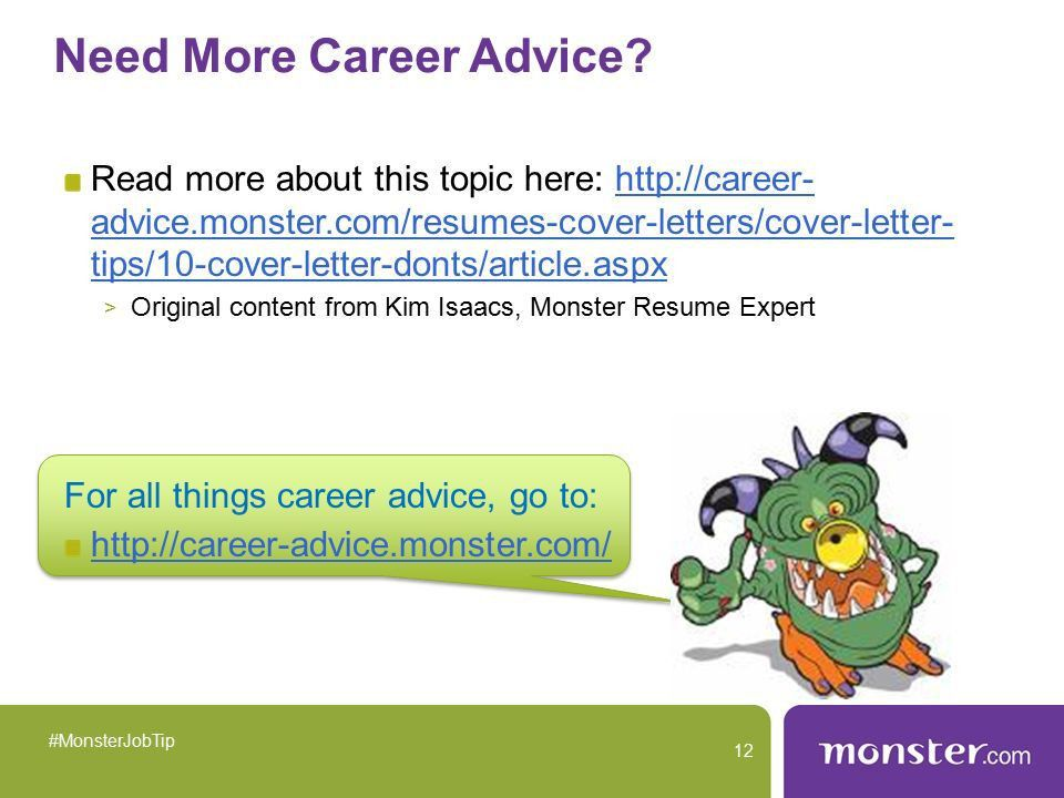 "10 Cover Letter Don'ts. Mistake #1: Overusing ""I"" Your cover ..."