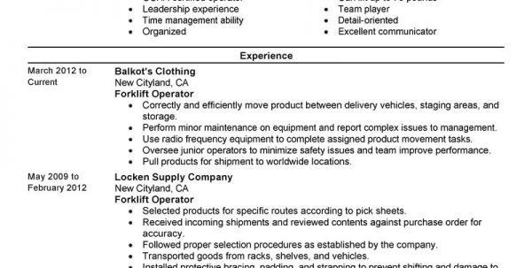 Shipping And Receiving Resume Machine Operator Resume Resume ...