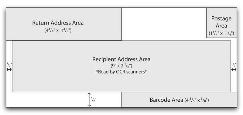 Number 10 Envelope Template | Template Design