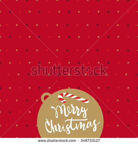 Merry Christmas Decorated Vector Words Stock Images, Royalty-Free ...