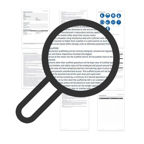 Scaffolding method statement template | Darley PCM