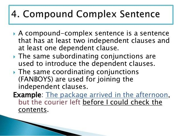 Sentence Types: Compound-complex Sentence Examples & Exercise for all…