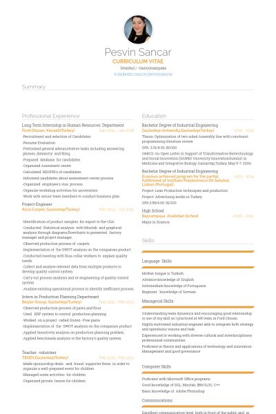 Human Resources Resume samples - VisualCV resume samples database