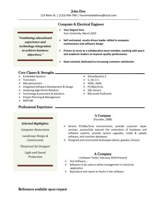 The Most Incredible Free Mac Resume Templates | Resume Format Web