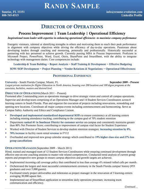 Executive Resume Samples | executive resume writing service