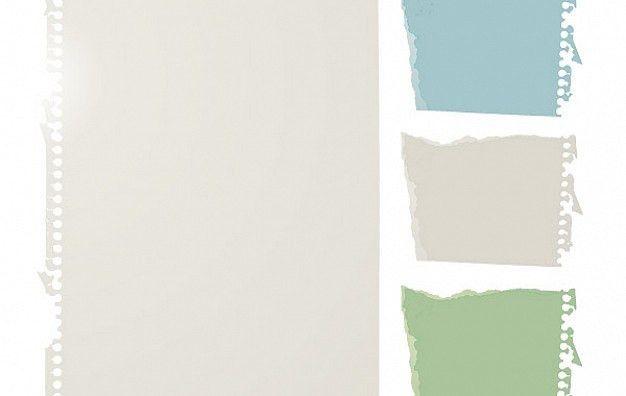 Free Notebook Paper Vector Vector | Free Download