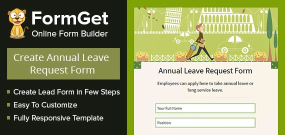 FormGet] - Create Annual Leave Request Form For Offices ...