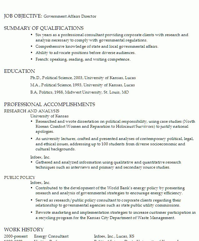 example of government resume resume example go government how to