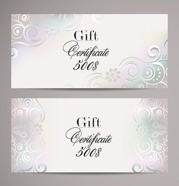 Gift certificate template free vector download (15,216 Free vector ...
