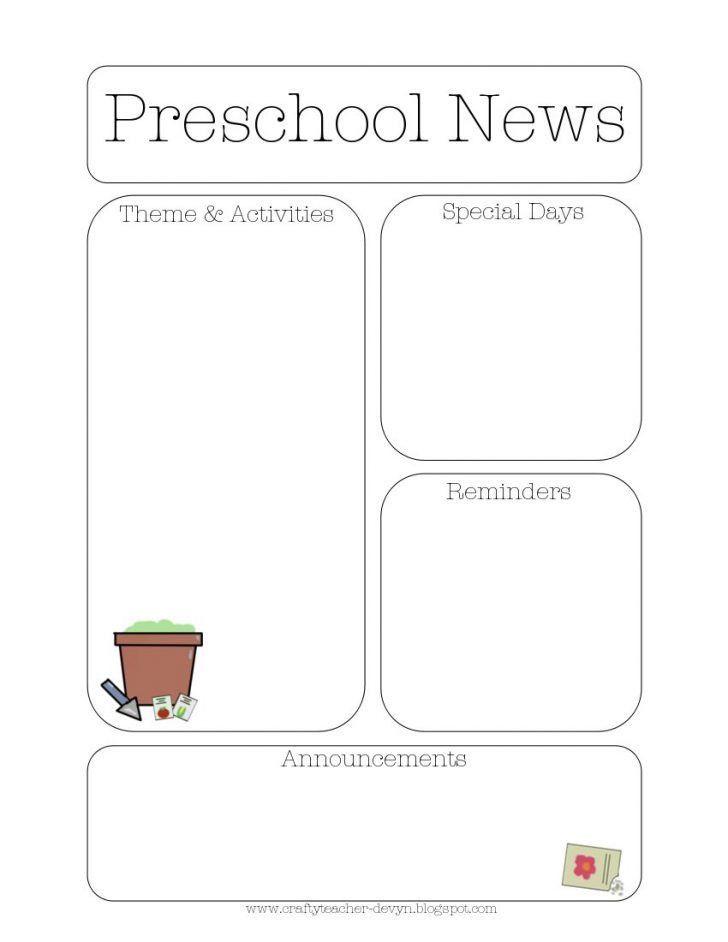 Teacher Newsletter Templates Word. 100 student newsletter ...