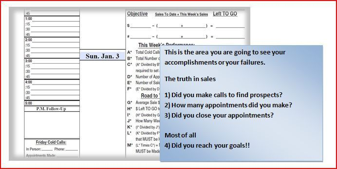Sales Planner & Activity Tracking Daily & Weekly Schedule Book ...