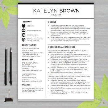 Download Educator Resume   haadyaooverbayresort.com