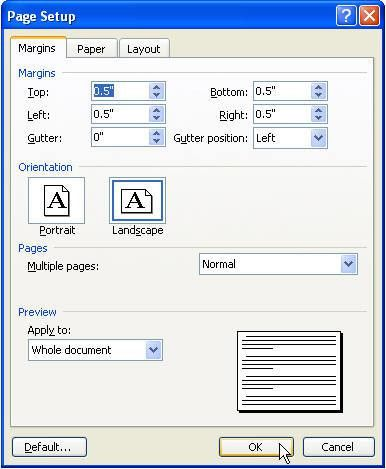 Create a Tri-Fold Brochure in Microsoft Word