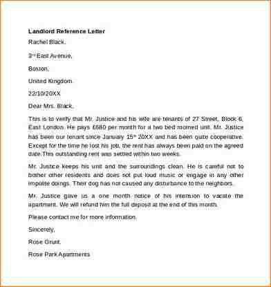 13+ landlord reference letter | academic resume template