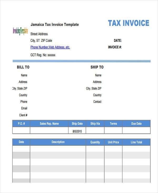 10+ Professional Invoice Templates - Free Sample, Example, Format ...