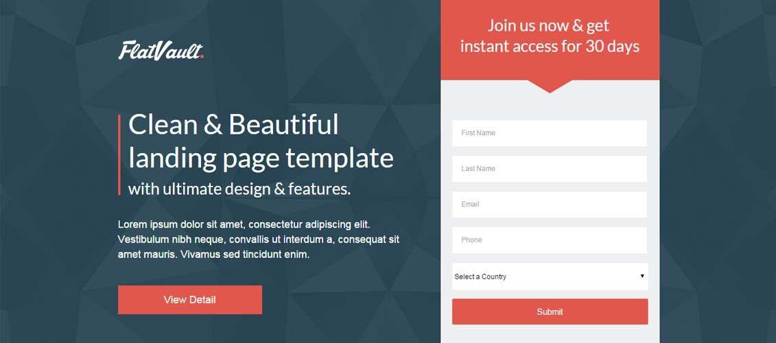 Landing Page Templates   cyberuse