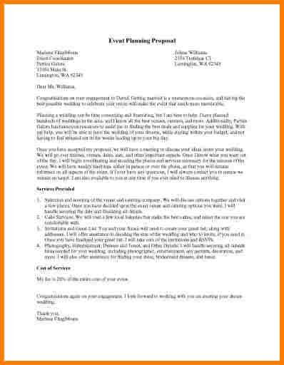Event Proposal Letters. General Resume » Charity Event Sponsorship ...