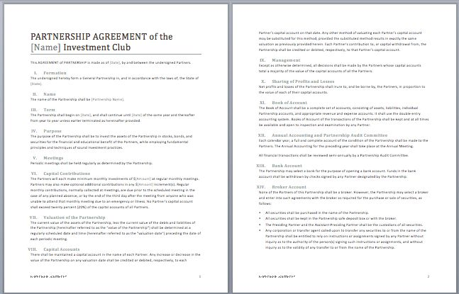 Business Contract Template | Microsoft Word Templates