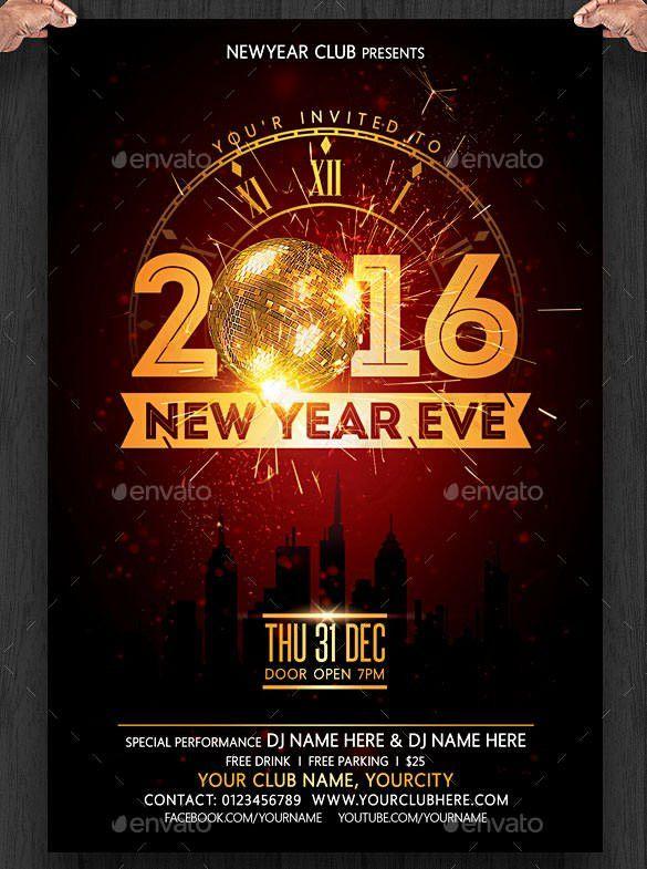 28+ New Year Invitation Templates – Free Word, PDF, PSD, EPS ...