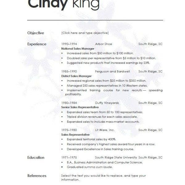 resume templates for openoffice free resume cv cover letter