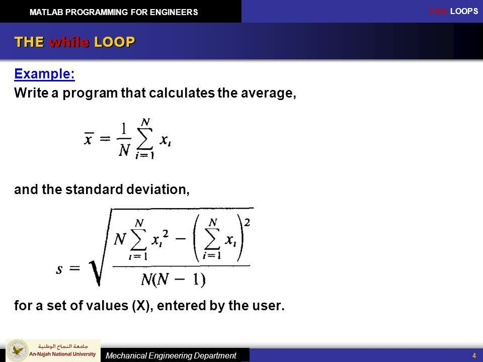 Matlab Programming for Engineers - ppt download