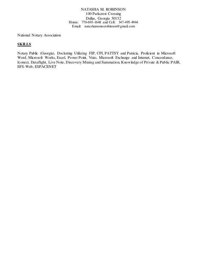 Natasha Robinson-Resume 2016