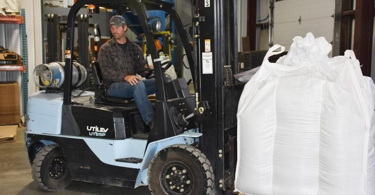 Economical forklift helps seed company grow | Corn and Soybean Digest