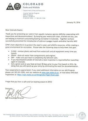 Colorado Parks & Wildlife - Boat Registration