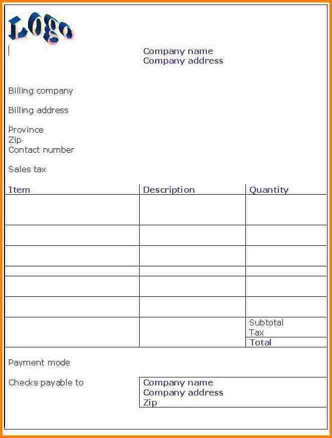 6+ hotel bill format in word document | Sales Bill Format