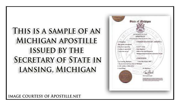 Michigan Apostille - Apostille Service by Apostille.net