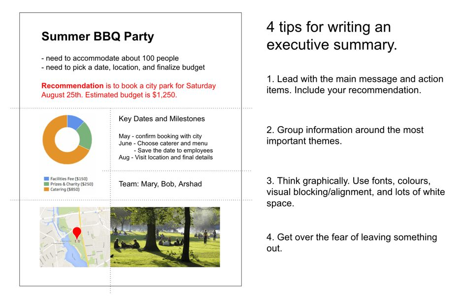 Four tips for writing an executive summary that will actually get ...