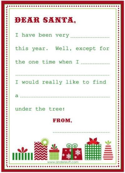 letter to santa | Christmas | Pinterest | Holidays, School and ...