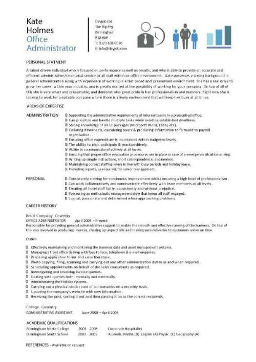 finance administrator cv sample myperfectcv. system administrator ...
