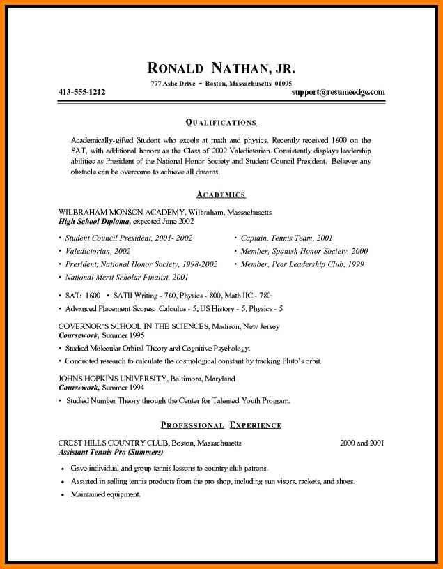 3+ basic resume templates for students | cashier resumes