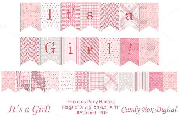 20+ Baby Shower Banner Templates – Free Sample, Example, Format ...