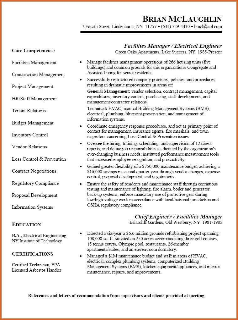 engineer sample resume automation sales engineer sample resume ...