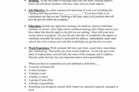 Resume Setup Example Resume Formats Jobscan Best Resume Examples