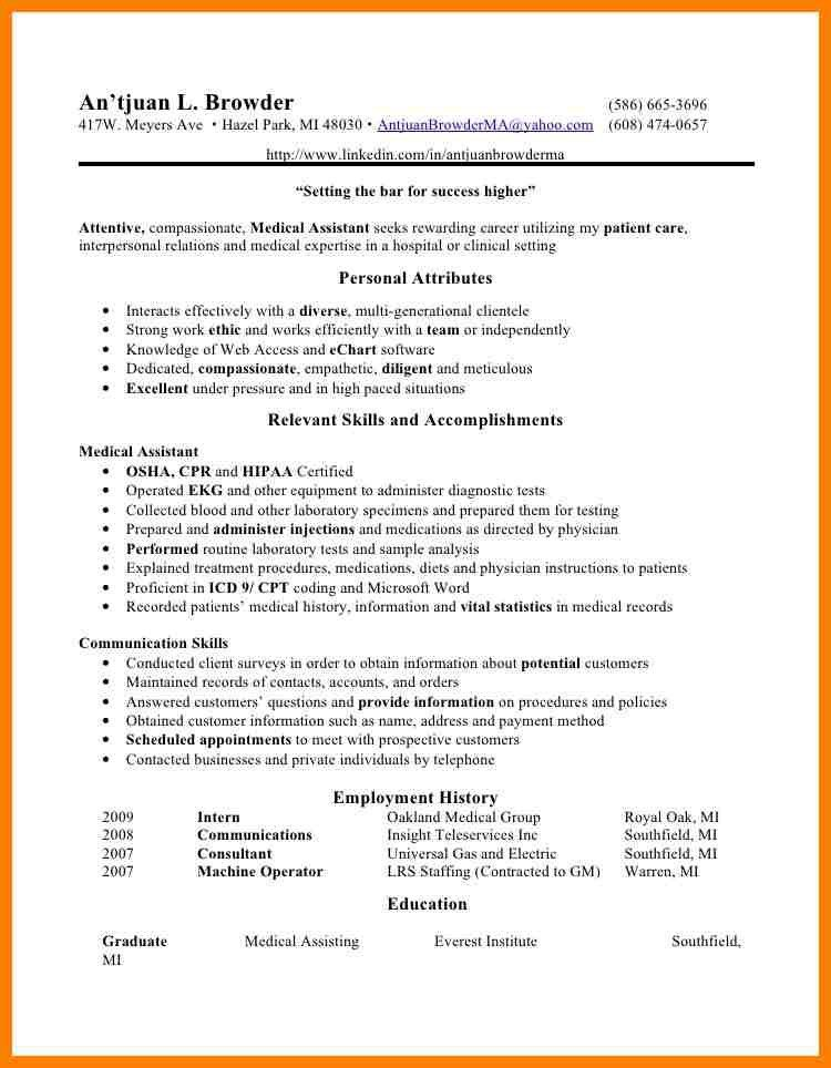 8+ physician assistant resume | billing clerk resume