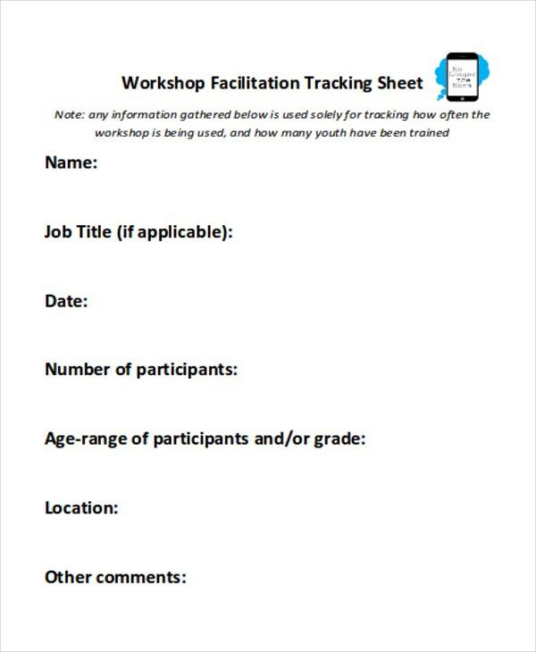 8+ Job Sheet Templates - Free Samples, Examples Format Download ...