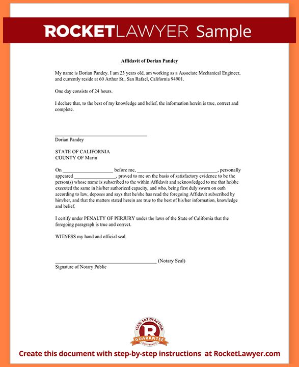 General Affidavit Form.Sample Affidavit Form Template.png - Sales ...