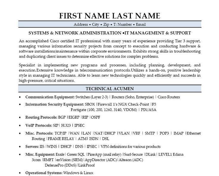 sample resume for system administrator download windows sys