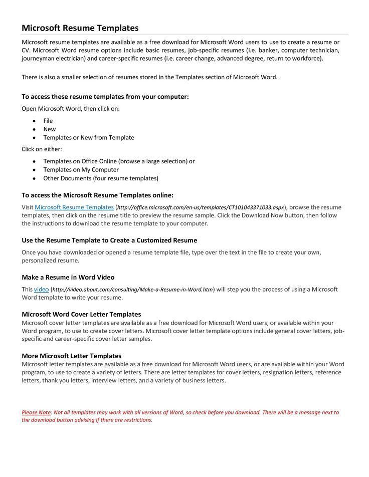 104 Best The Best Resume Format Images On Pinterest | Resume .