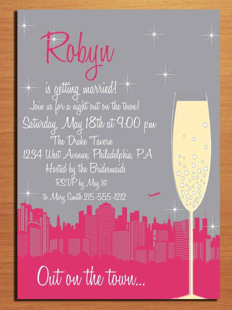 Bachelorette Party Invitations Templates – gangcraft.net