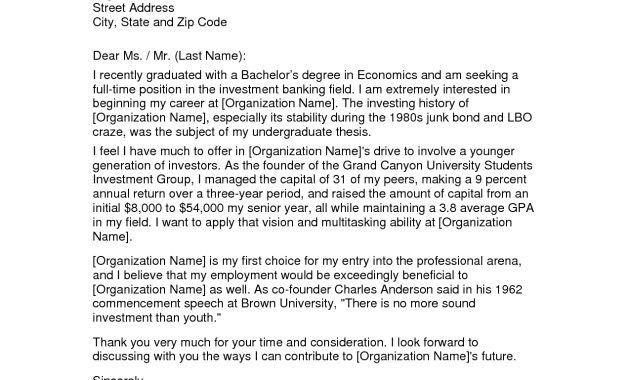 investment banking resume bank internship application letter ...